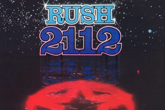 Rush 2112 Albüm Kapağı