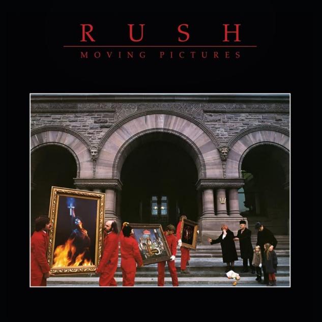 Rush Moving Pictures Albüm Kapağı