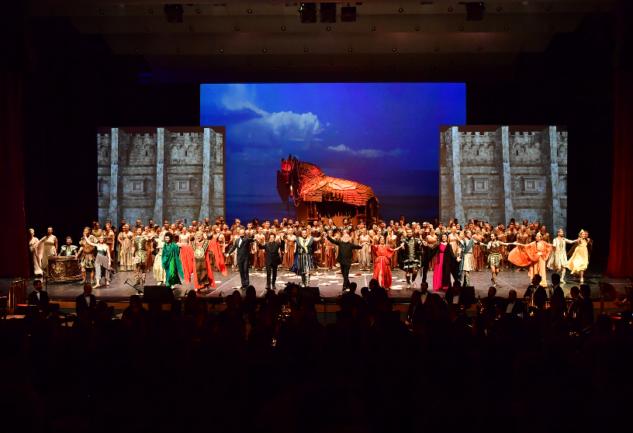 Troya Operası: TRT2'de Muhteşem Bir Sahne Gösterisi