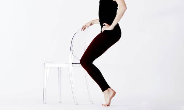 Sandalye ile Barre Egzersizi