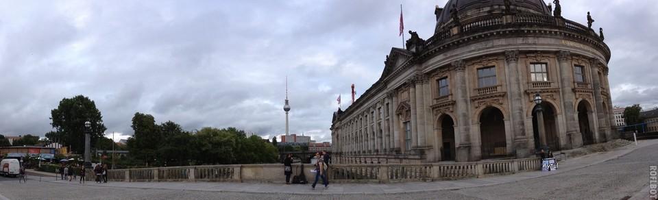 Berliner Fernsehturm ve Bode Museum