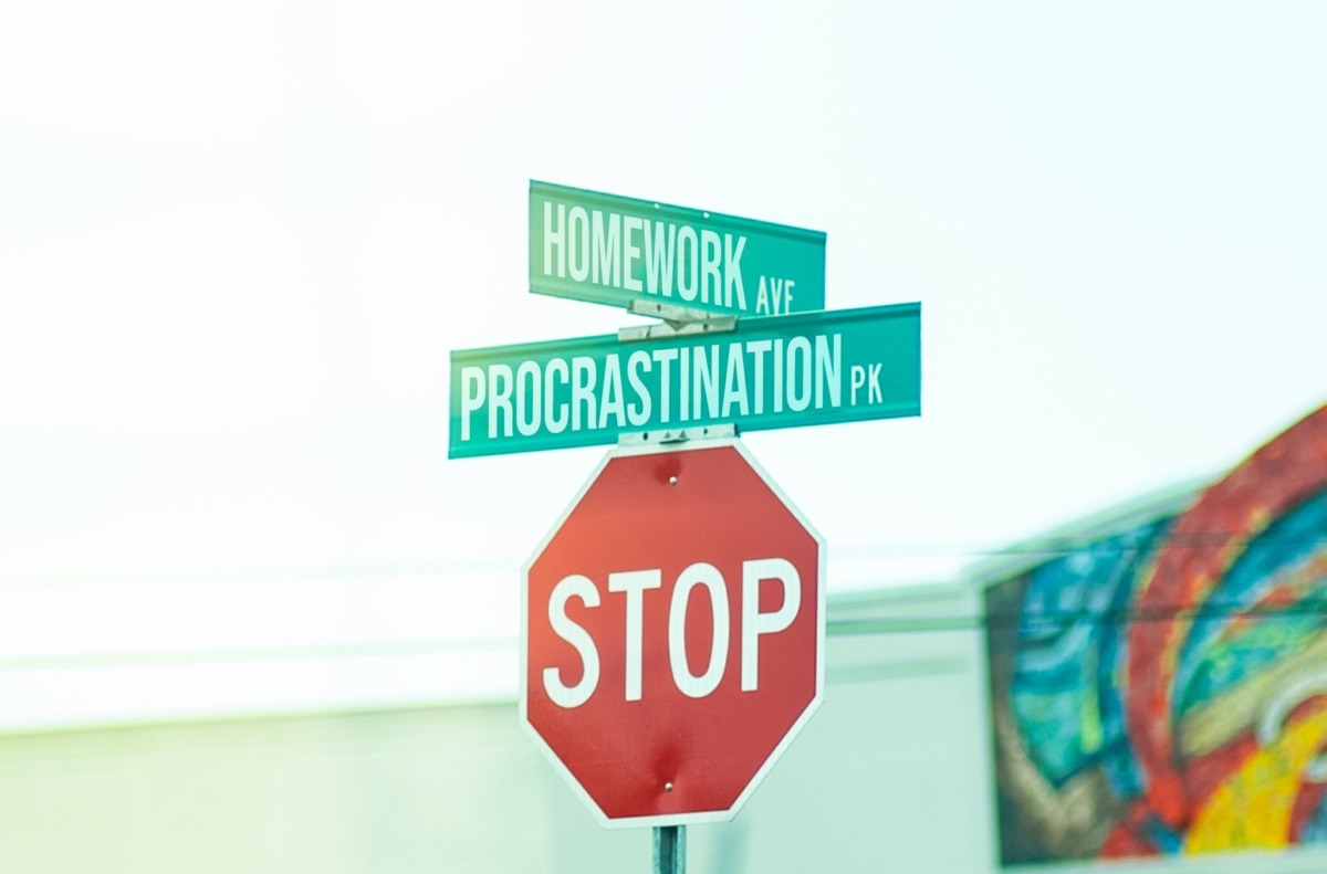 Prokrastineyşın