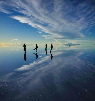 Salar De Uyuni Gölü: Bolivya'ya Doğru Hayali Bir Yolculuk
