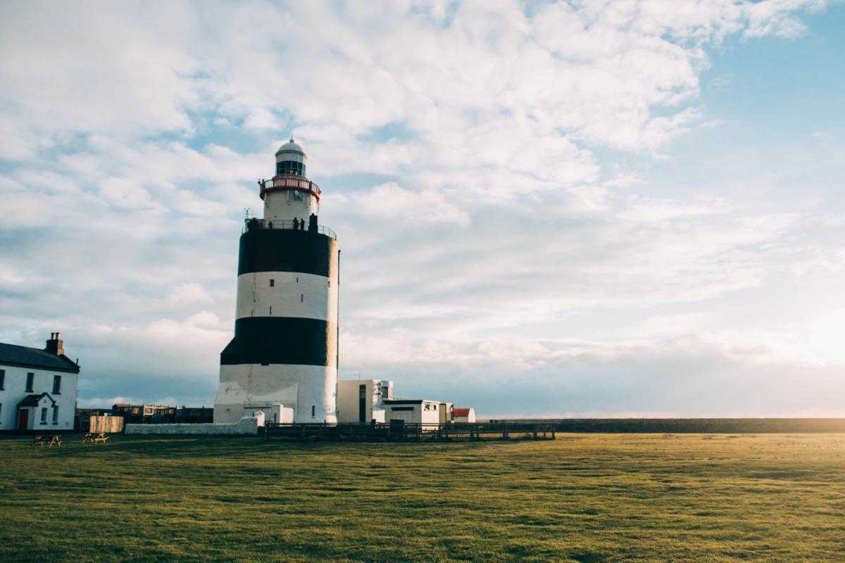 irlanda sahilleri - hook lighthouse