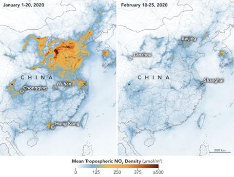 Çin'deki Hava Kirliliği