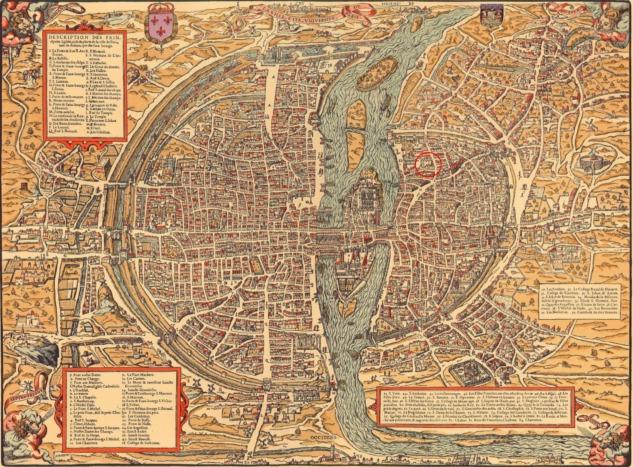 1575'te Paris