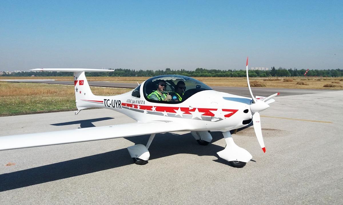 Havacılık eğitimi, deneme uçuşu