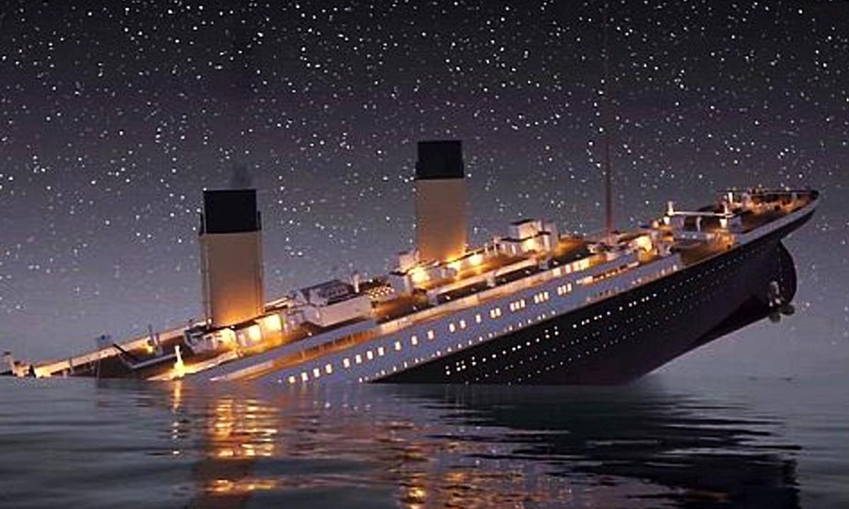 Titanic Batıyor