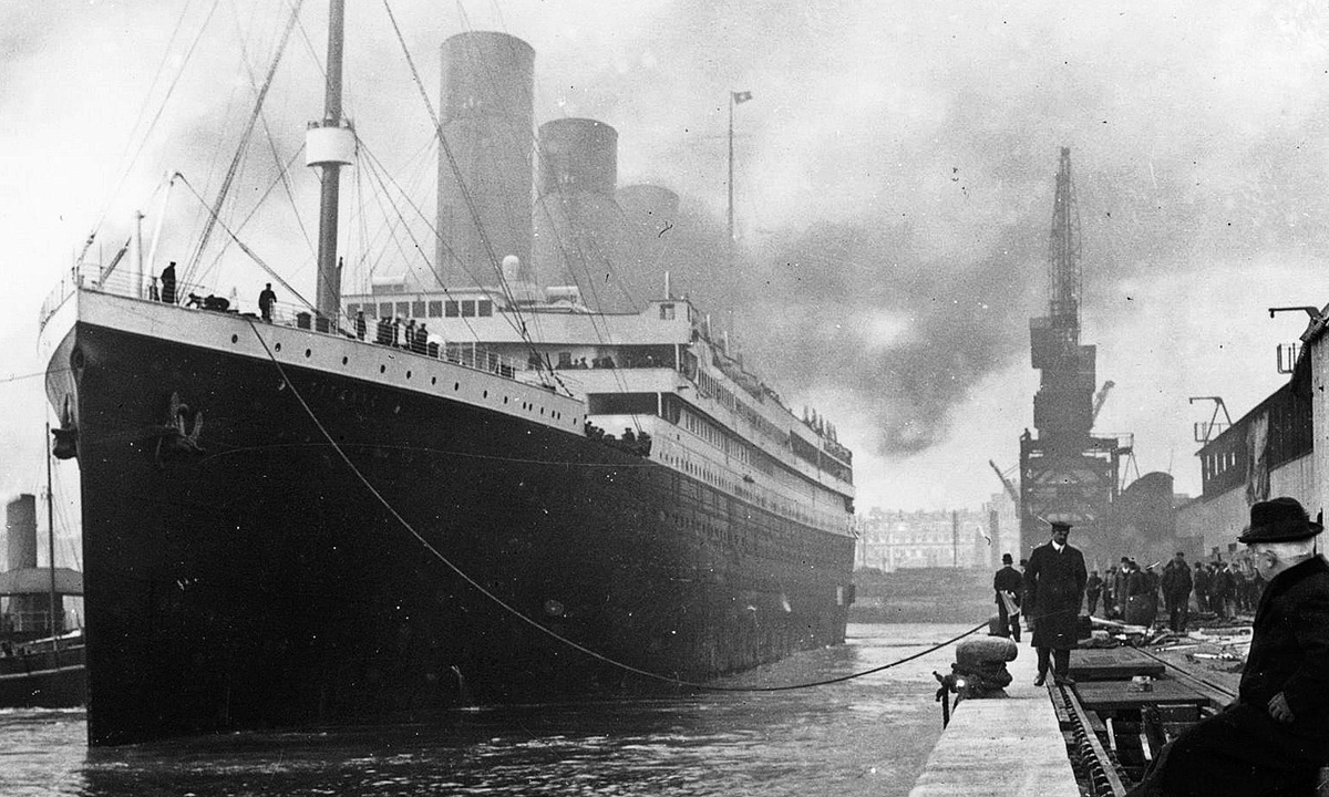 Titanic Southampton Rıhtımında