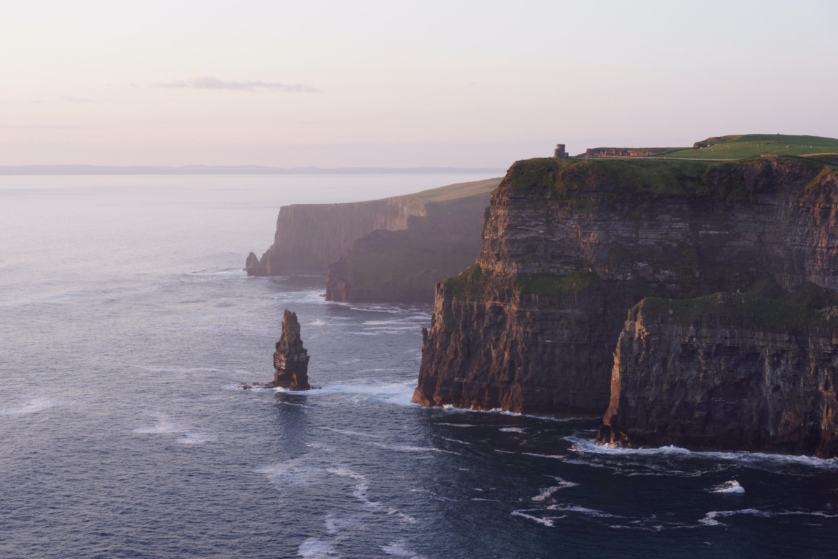 irlanda sahilleri - cliffs of moher