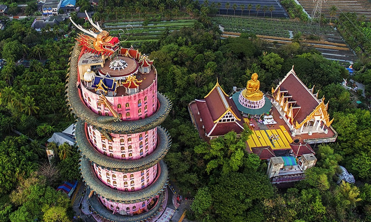 Wat Samphran Tapınağı