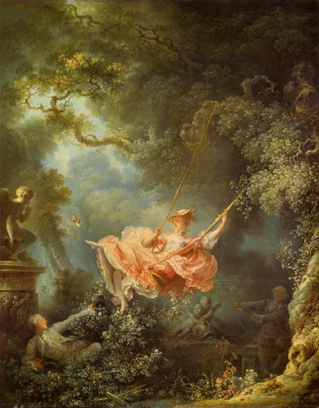 Jean-Honoré Fragonard, Salıncak, 1767, Wallace Collection, London