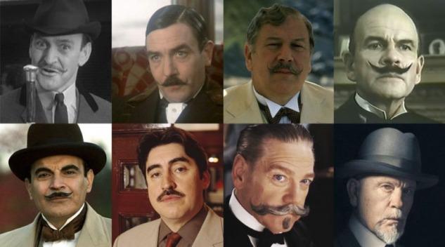 1965'ten 2018'e Hercule Poirot