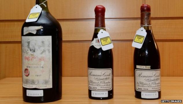 Rudy'nin Evinde Bulunan Sahte Şaraplar