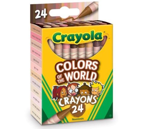 Crayola Tüm Dünyadan Farklı Ten Renklerine Uyum Sağlayan Yeni Bir Seriyi Satışa Sundu