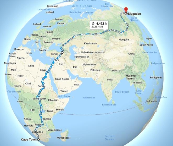Dünyanın En Uzun Yürüyüş Yolu