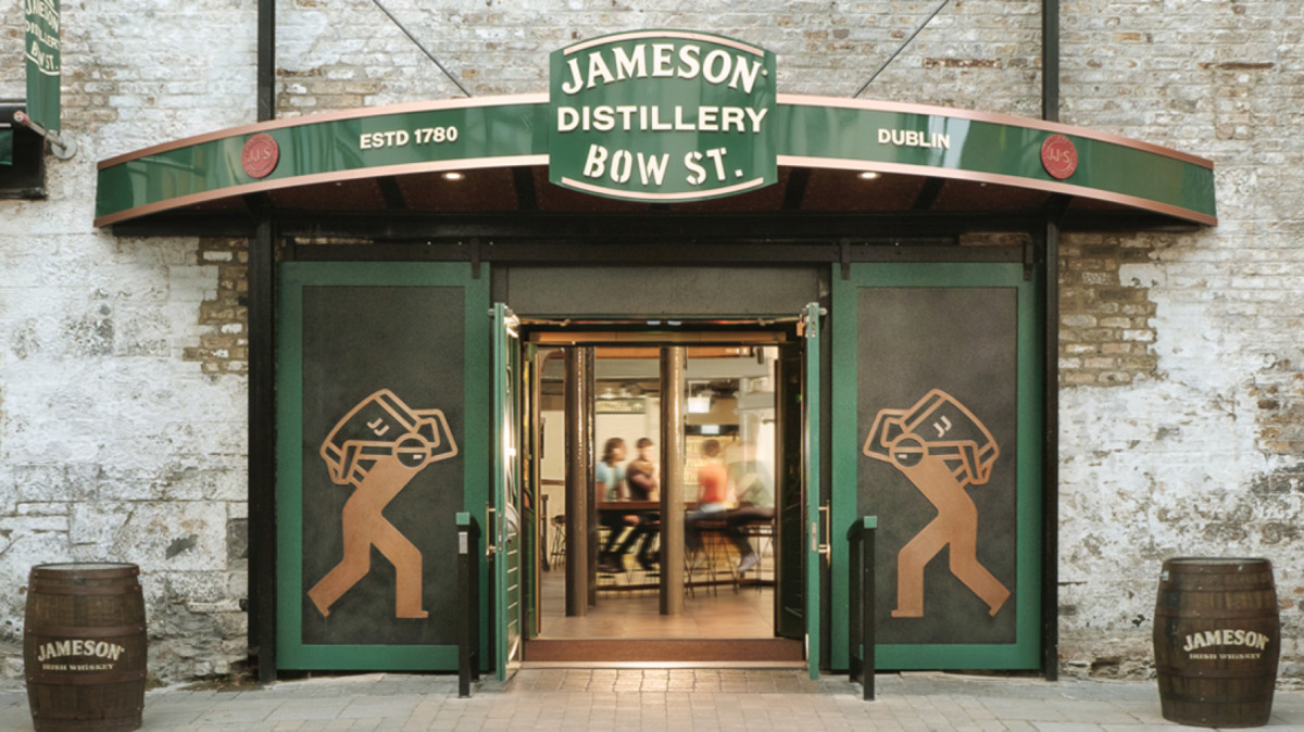 jameson bow street distillery