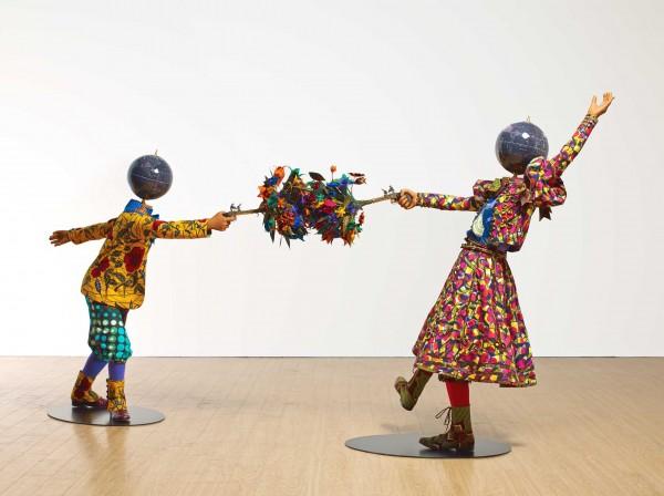 Yinka Shonibare, Düello (Çiçek Gücü Serisi), 2014