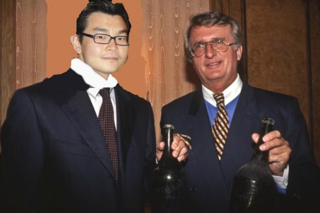 Hardy Rodenstock ve Rudy Kurniawan