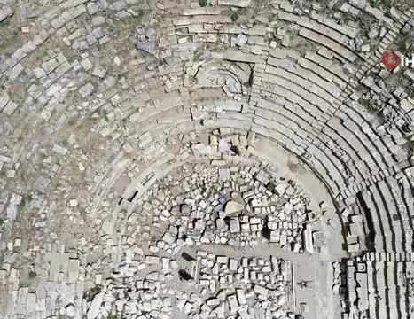 Laodikya Antik Kenti'ndeki 'Batı (Helenistik) Tiyatro' Perdelerini Açmaya Hazırlanıyor