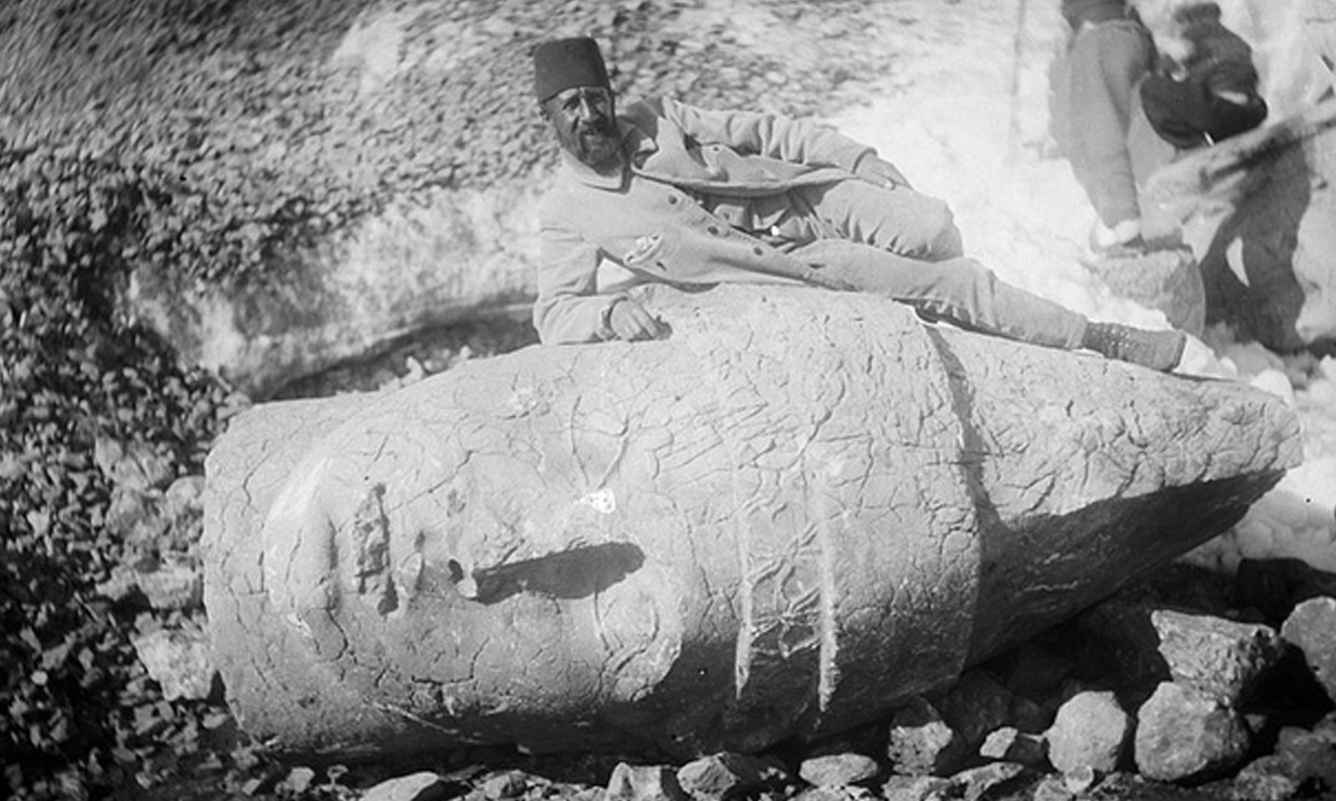 Osman Hamdi Bey – Nemrut Kazılarında