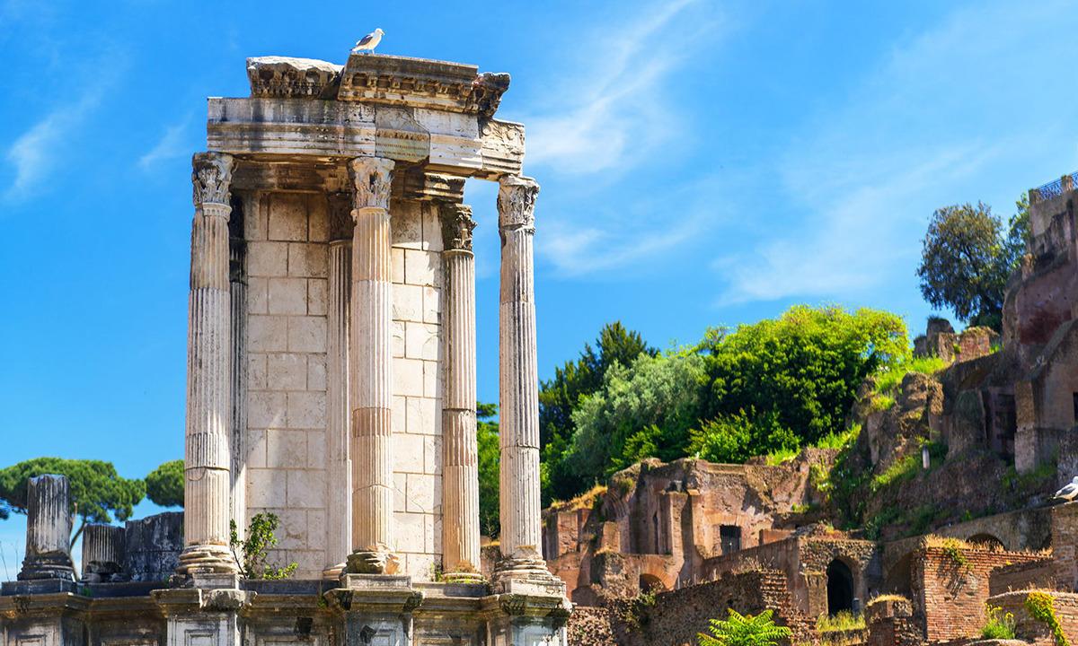 Vesta Bakireleri - Vesta Tapınağı