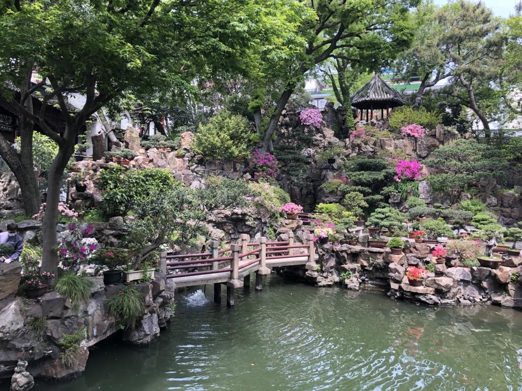 Bahar ayında Yu Bahçeleri