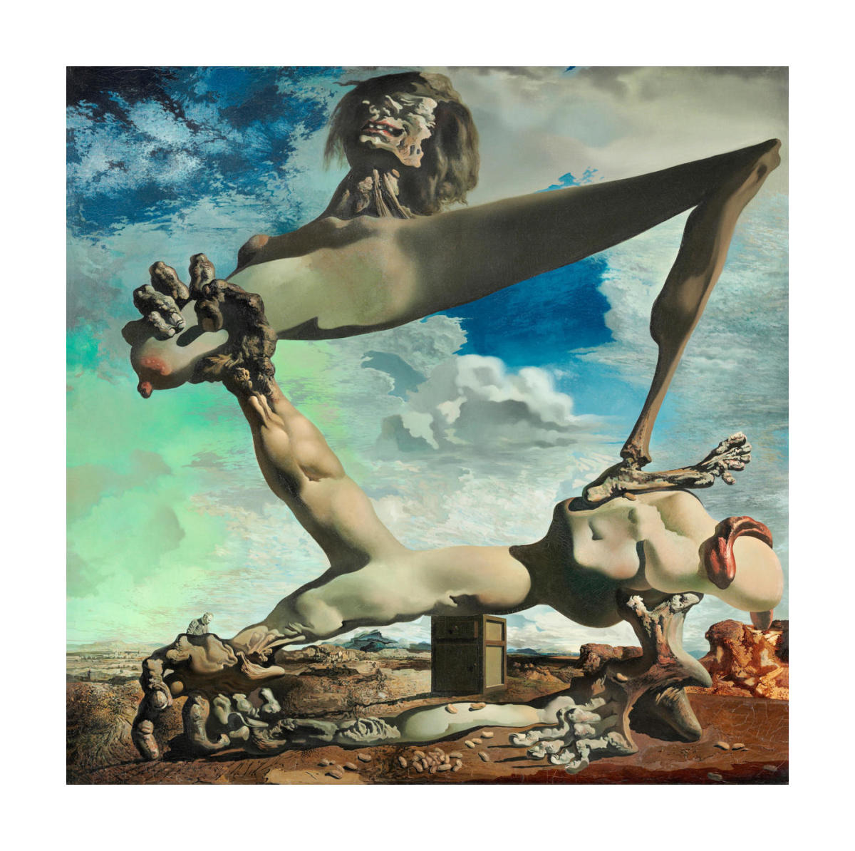 Soft Construction with Boiled Beans, Salvador Dali, (1936), Philadelphia Museum of Art