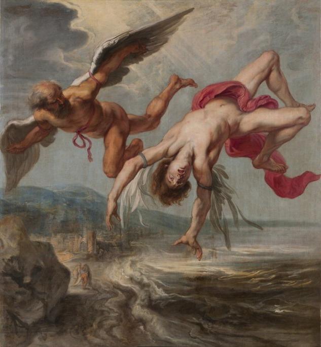 Daidalos (Daidalus) ve Oğlu Icarus