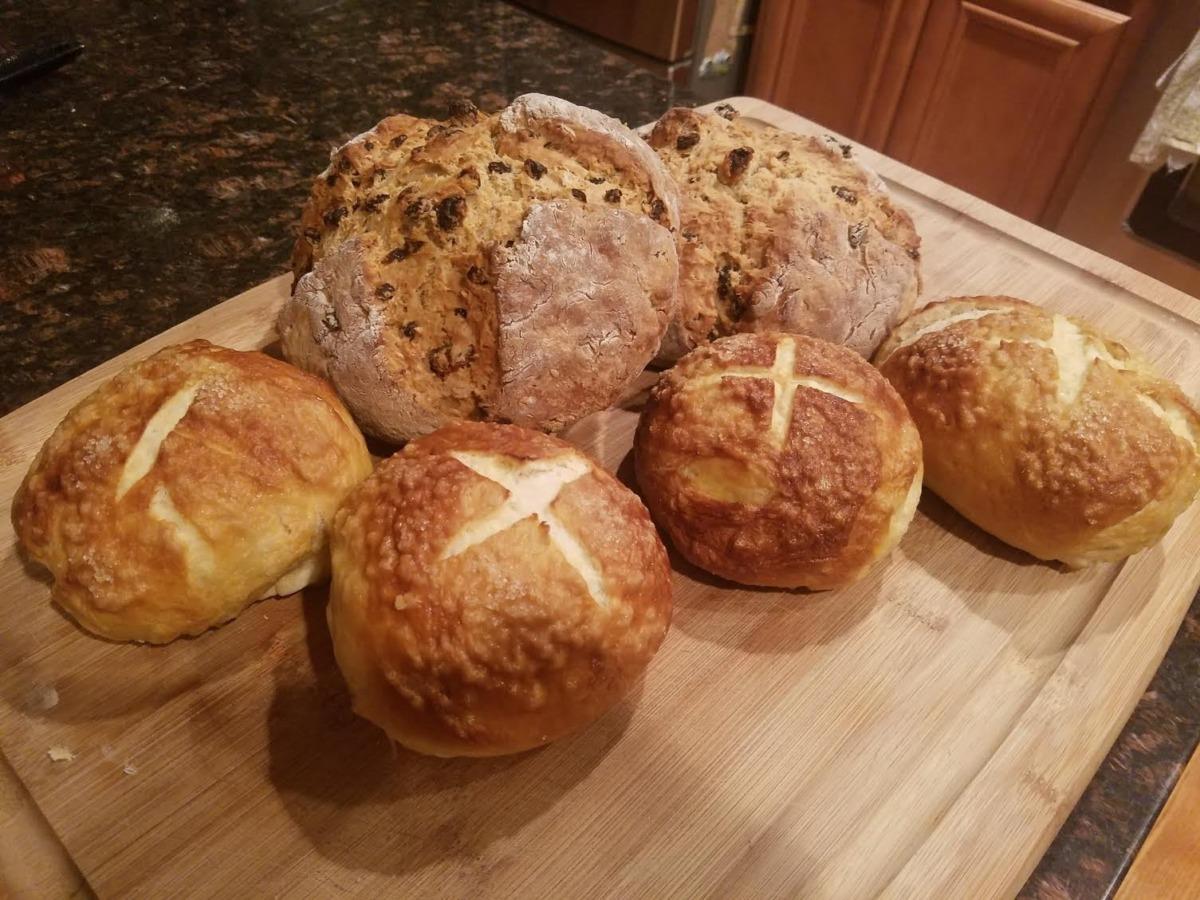irlanda ekmekleri ve sodalı ekmek