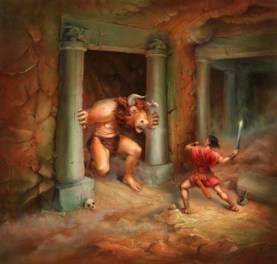 Minotor & Theseus