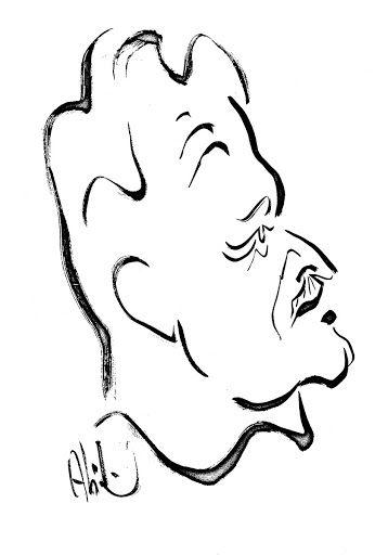 Abidin Dino, Nazım Hikmet çizimi