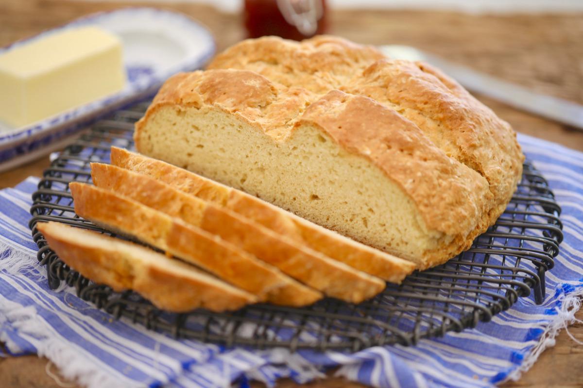 irlanda usulü sodalı ekmek