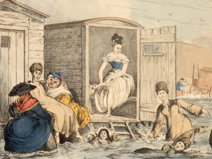1800'lerde Plaj Modası