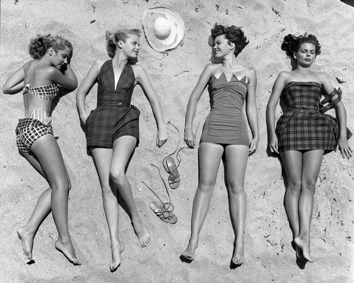 1950'lerde Plaj Modası
