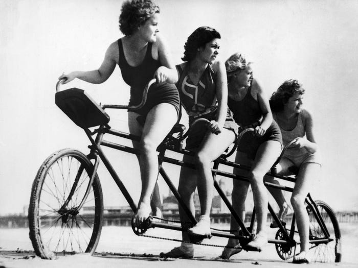 1930'larda Plaj Modası