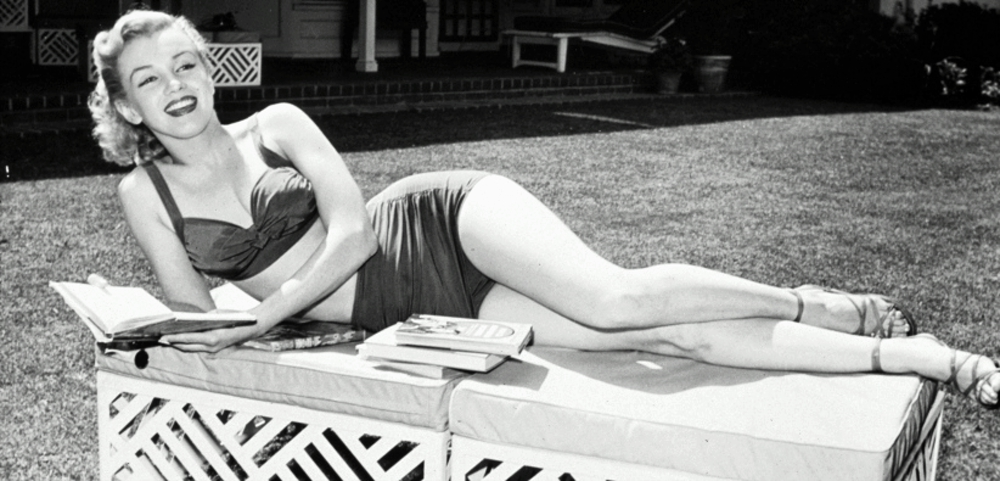1940'larda Marilyn Monroe