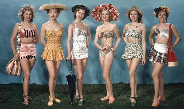 1940'larda Plaj Modası