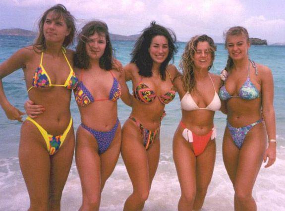 1980'lerde Plaj Modası