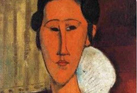 Modigliani'nin Anna Akhmatova Portresi