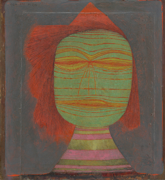 Paul Klee, Actor's Mask