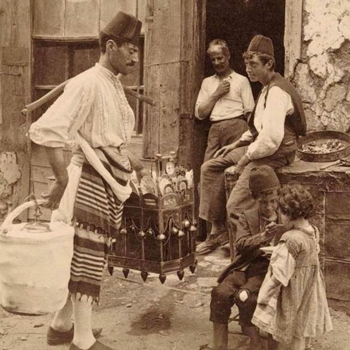 Osmanlı'da Dondurma Satıcıları