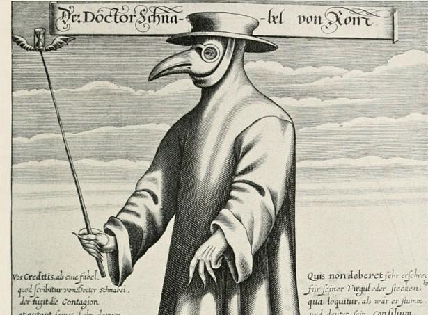 Dottore Peste Maskesiyle Roma'da Bir Doktor