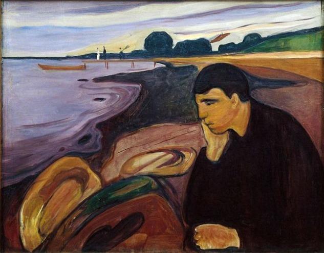 Edvard Munch, Melancholy