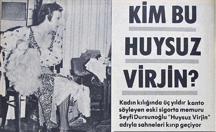 Basında Huysuz Virjin