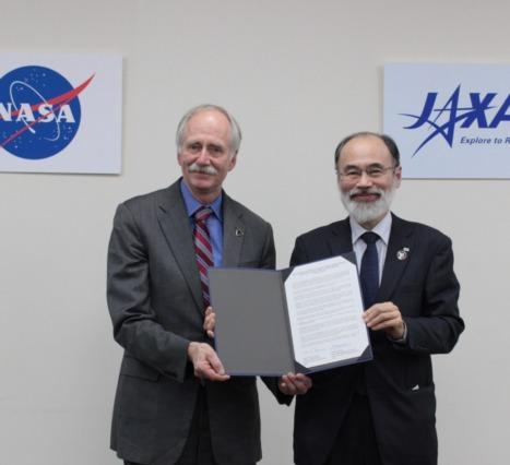 NASA; Artemis, Lunar Geteway ve Space Station Projelerinin Kordinasyonu için Japonya ile Sözleşme İmzaladı