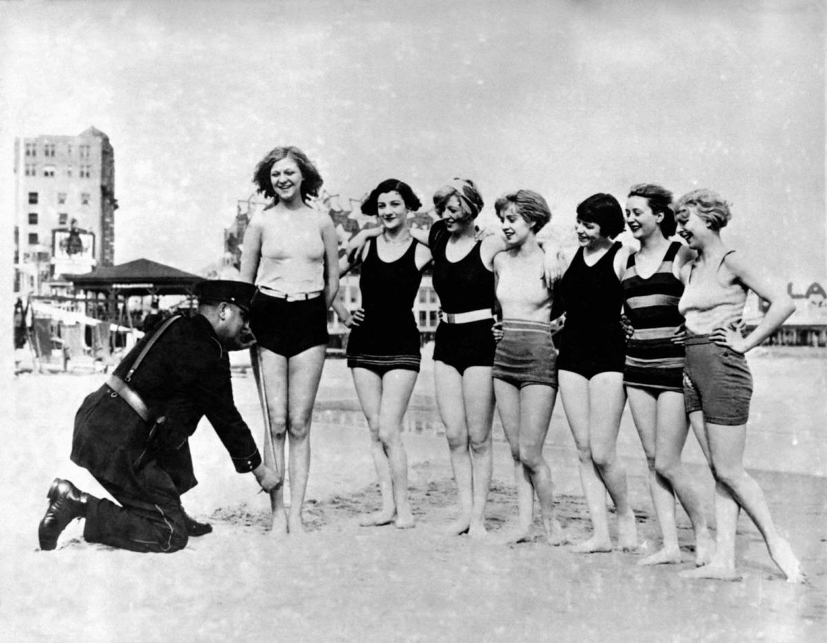 Plaj Kıyafetlerinin Denetlenmesi