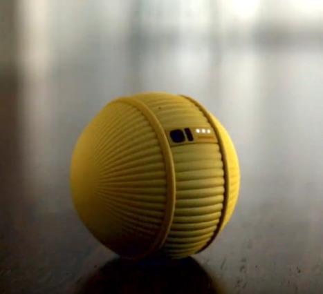 Ballie İsmindeki Minik Robot Günlük Kişisel İhtiyaçlara Yardımcı Olmak Üzere Tasarlardı