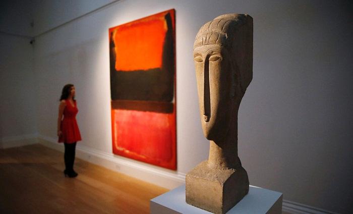 Modigliani Heykel Çalışması