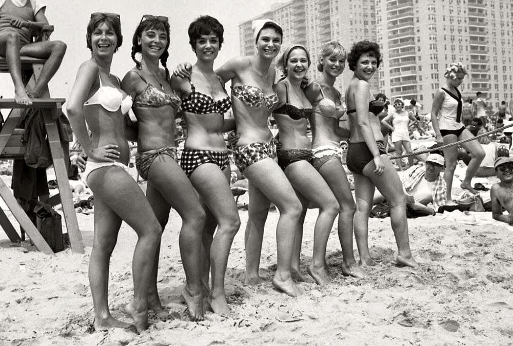 1960'larda Plaj Modası